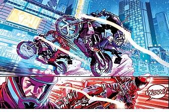 """BMW Motorrad lanza el cómic """"Riders in the Storm"""""""