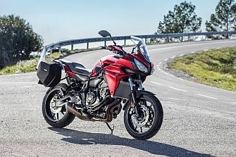 Yamaha Tracer 700, presentación dinámica