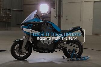 Vuelta al Mundo en 80 días con una moto eléctrica