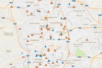 Madrid: Nuevos puntos de control de semáforo en rojo