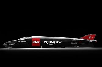 Triumph intentará batir los 606 km/h en su tercer intento