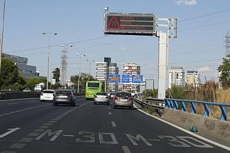 El tráfico de la M-30 se verá afectado por obras en la M-11