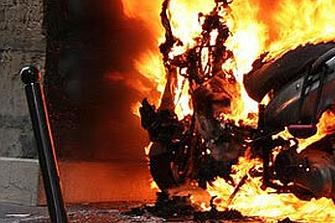 El sospechoso de la quema de vehículos, ¡un sin techo!