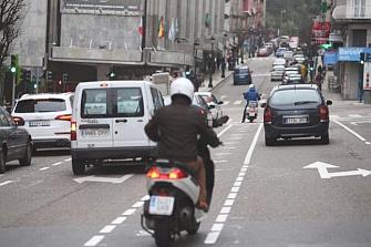 El parque de motos de Vigo se duplica en 10 años