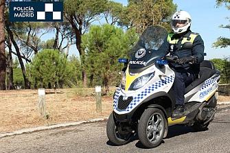 La Policía Municipal de Madrid incorpora las Piaggio MP3 LT 500