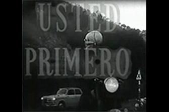 """La primera campaña de Tráfico para la TV se llamaba """"Usted primero"""""""