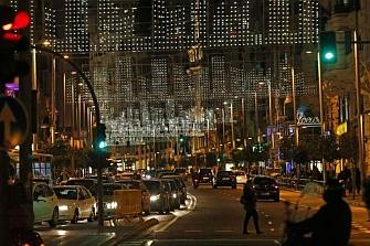Las motos podrán acceder al centro de Madrid por Navidad