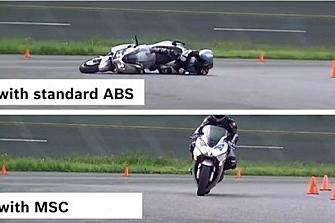 El ABS es obligatorio desde 2017 en motos de más de 125 cc