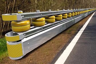 """Safety Rolling Barrier ¿El """"guardarrail"""" definitivo para salvar motociclistas?"""