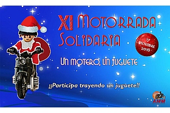 XI Motorrada Solidaria `Un Motero, un Juguete´