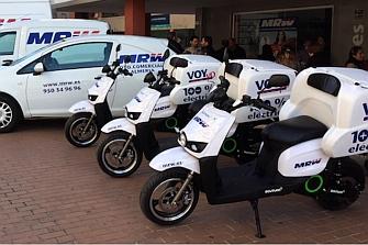 Las motos eléctricas de Scutum crean empleo en Barcelona