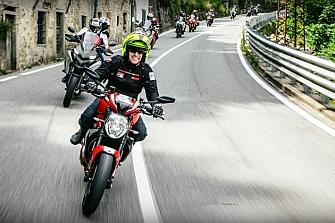 Tres días inolvidables con el Ducati Dream Tour
