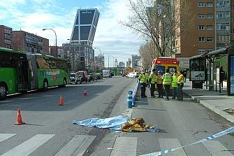 Carril bus de la Castellana quedará vetado a motos el día 26