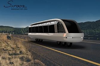 Siroco Concept Bus: moto-autobús híbrido