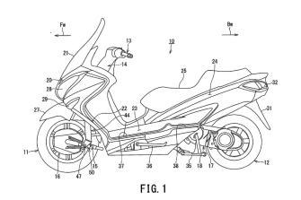 Patentes: Suzuki Burgman Hybrid 2WD