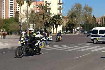 La Policía Local de Valencia sigue sin utilizar las motos nuevas