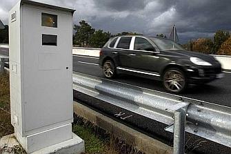 Bajan un 23% las multas por radares en Guipúzcoa