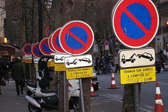 Jaén reubica los aparcamientos de motos