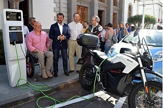 Primer punto de recarga para motos eléctricas en Alicante