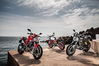 Disponibles la gama Ducati y Ducati Scrambler para el A2