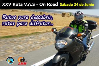XXV Ruta VAS On - Road