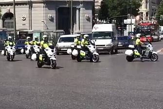 13 nuevas motos eléctricas para la Policía Local de Madrid