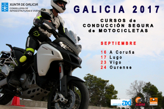 Cursos de Conducción de Motocicletas Galicia 2017