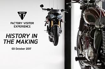 Triumph y su nuevo `Factory Visitor Experience´