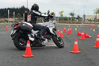 Arranque seguro del Curso de Conducción de Motocicletas