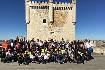 Finaliza la Vuelta Mototurística a Valladolid 2017