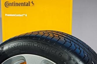 Riesgo de accidente con los neumáticos Continental PremiumContac 6