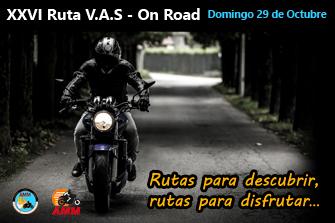 Llega la XXVI Ruta VAS - On Road
