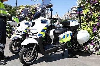 La Policía Local de Vitoria podría adquirir motos eléctricas