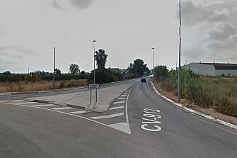 Mejora de la seguridad vial en la CV-912 entre Almoradí y Dolores