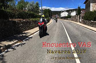 ¡ÚLTIMAS PLAZAS! II ENCUENTRO VAS Navarra 2017