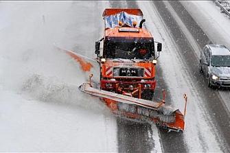 Operativo de vialidad invernal en las autopistas de Cataluña y Aragón