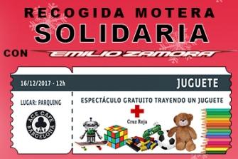 Recogida Motera Solidaria de juguetes 2017