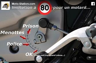 Límite de 80 Km/h en las carreteras francesas enciende al colectivo motero