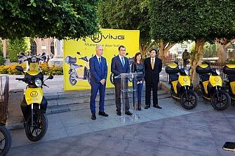 Córdoba se une al motosharing de Muving
