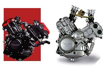 SWM desvela cuatro versiones de su motor V-Twin