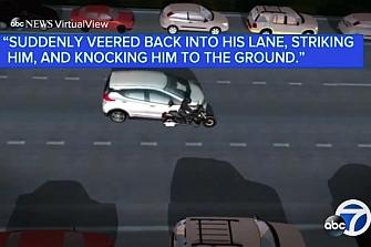 Un vehículo autónomo de la GM atropella a un motorista