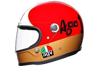 AGV AGO, homenaje a Giacomo Agostini