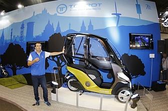 Torrot presenta el Velocípedo en Vive la Moto