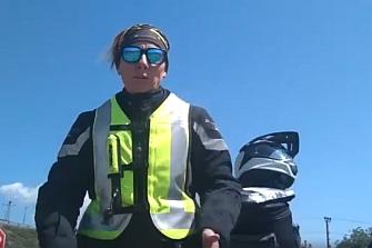 Elsi Rider y Mutua Motera colaboran por la Seguridad Vial