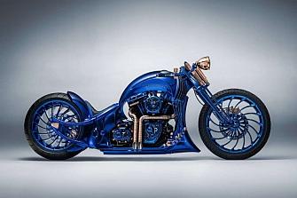 Harley-Davidson Bucherer Blue Edition: La moto más cara de la historia