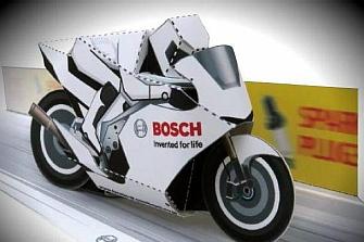 Bosch desarrolla un paquete de seguridad para motocicletas