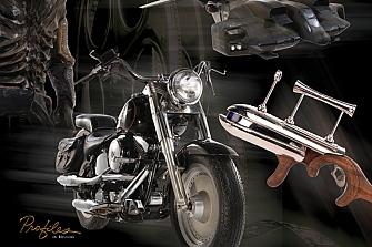La Harley de Terminator a subasta