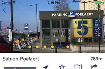 Lanzan la aplicación Parking Bruselas