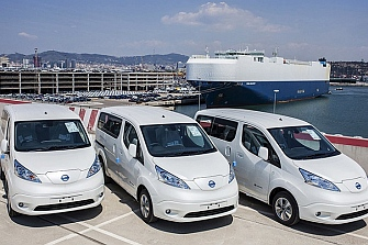eCooltra contará con furgonetas eléctricas para el cambio de baterías