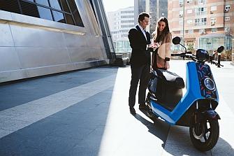 Movo, nuevo servicio de motosharing para Madrid